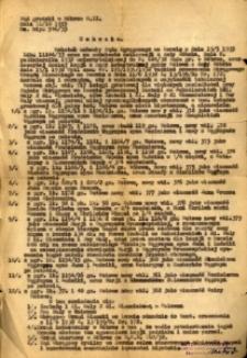 Uchwała dozwalająca i zarządzająca utworzenie w gminie Wołowe nowych ciał hipotecznych z 19 marca 1933 roku.