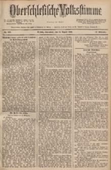 Oberschlesische Volksstimme, 1888, Jg. 14, Nr. 189