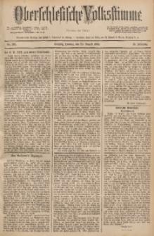 Oberschlesische Volksstimme, 1888, Jg. 14, Nr. 191