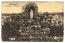 Lourdes Grotte im Waisenhaus zu Bogutschütz