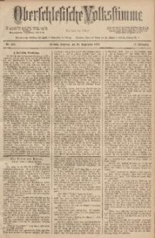 Oberschlesische Volksstimme, 1888, Jg. 14, Nr. 220
