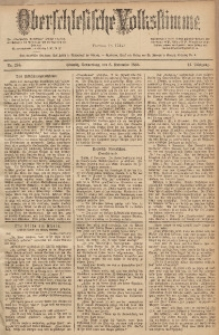 Oberschlesische Volksstimme, 1888, Jg. 14, Nr. 258