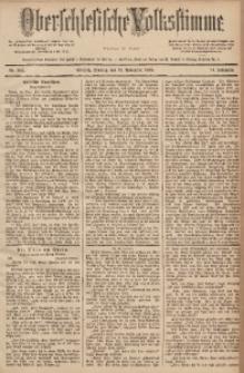 Oberschlesische Volksstimme, 1888, Jg. 14, Nr. 262