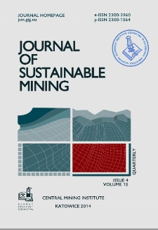 Journal of Sustainable Mining, 2014, nr 4