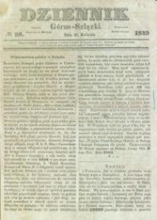 Dziennik Górno-Szlązki, 1849, nr 88