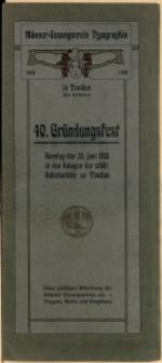 40. Gründungsfest