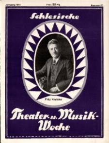 Schlesische Theater- u[nd] Musik-Woche, 1924, Jg. 1, Nr. 15