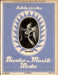 Schlesische Theater- u[nd] Musik-Woche, 1925, Jg. 2, Nr. 10