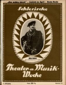 Schlesische Theater- u[nd] Musik-Woche, 1925, Jg. 2, Nr. 15
