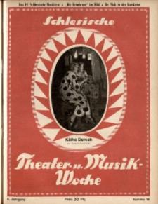 Schlesische Theater- u[nd] Musik-Woche, 1925, Jg. 2, Nr. 16