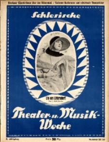 Schlesische Theater- u[nd] Musik-Woche, 1925, Jg. 2, Nr. 25/26