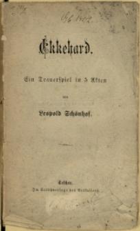 Ekkehard : ein Trauerspiel in 5 Akten