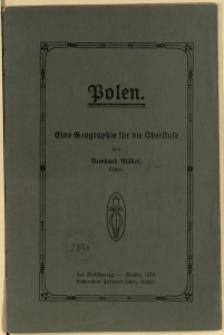 Polen : eine Geographie für die Oberstufe, 1925