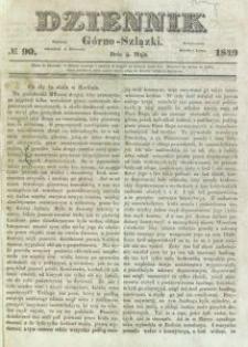 Dziennik Górno-Szlązki, 1849, nr 90