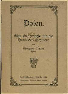 Polen : eine Geographie für die Hand des Schülers, 1924