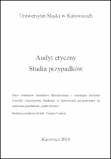 Przestrzeganie zasad etycznych w zawodzie nauczyciela przez pracowników placówki dydaktyczno-wychowawczej w województwie małopolskim