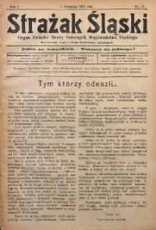 Strażak Śląski, 1927, R. 1, nr 13