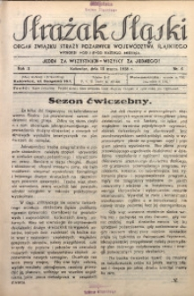 Strażak Śląski, 1928, R. 2, nr 6