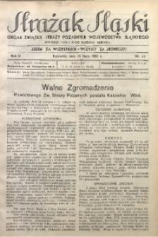 Strażak Śląski, 1928, R. 2, nr 14