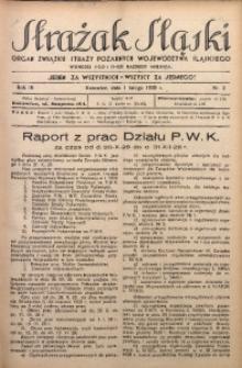 Strażak Śląski, 1929, R. 3, nr 3