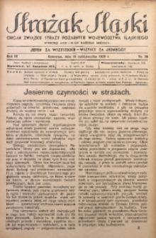 Strażak Śląski, 1929, R. 3, nr 20