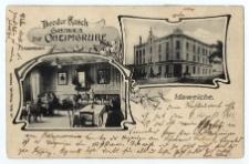 Idaweiche. Theodor Kusch Gasthaus zur Oheimgrube