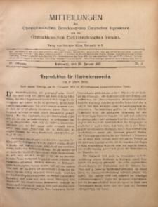 Mitteilungen des Oberschlesischen Bezirksvereins Deutscher Ingenieure und des Oberschlesischen Elektrotechnischen Vereins, 1912, Jg. 4, No. 2