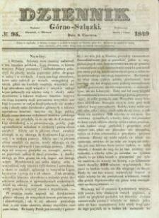 Dziennik Górno-Szlązki, 1849, nr 95