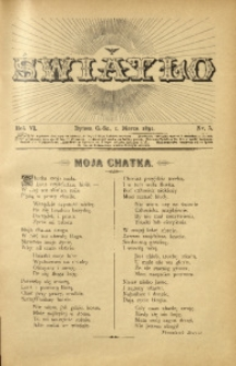 Światło, 1892, R. 6, nr 5