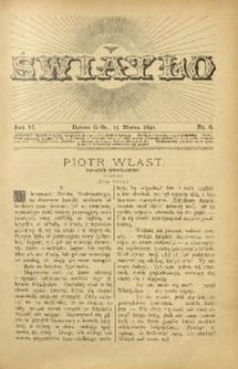 Światło, 1892, R. 6, nr 6