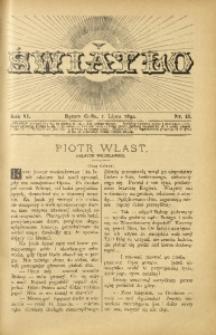 Światło, 1892, R. 6, nr 13