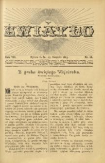 Światło, 1893, R. 7, nr 16