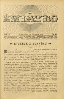 Światło, 1893, R. 7, nr 18