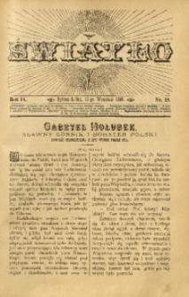 Światło, 1895, R. 9, nr 18