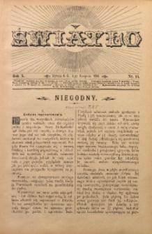 Światło, 1896, R. 10, nr 15
