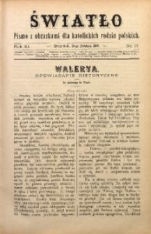 Światło, 1897, R. 11, nr 17