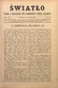 Światło, 1898, R. 12, nr 20