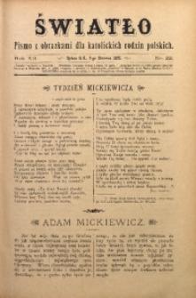Światło, 1898, R. 12, nr 22