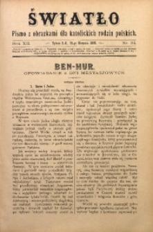 Światło, 1898, R. 12, nr 34