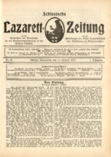 Schlesische Lazarett-Zeitung, 1916, Jg. 1, Nr. 38