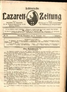 Schlesische Lazarett-Zeitung, 1916, Jg. 1, Nr. 44