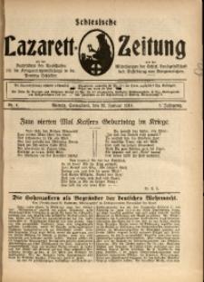 Schlesische Lazarett-Zeitung, 1918, Jg. 3, Nr. 4