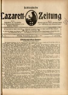 Schlesische Lazarett-Zeitung, 1918, Jg. 3, Nr. 14