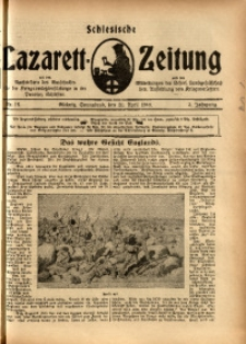 Schlesische Lazarett-Zeitung, 1918, Jg. 3, Nr. 16