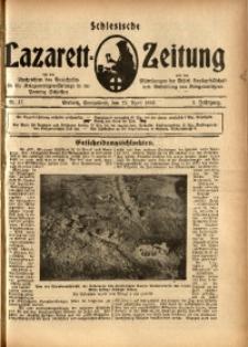 Schlesische Lazarett-Zeitung, 1918, Jg. 3, Nr. 17