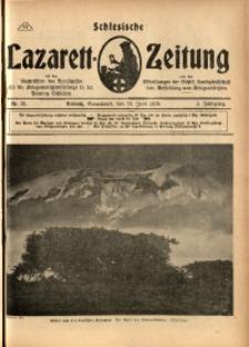 Schlesische Lazarett-Zeitung, 1918, Jg. 3, Nr. 25