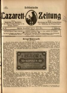 Schlesische Lazarett-Zeitung, 1918, Jg. 3, Nr. 26