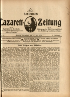 Schlesische Lazarett-Zeitung, 1918, Jg. 3, Nr. 30