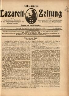 Schlesische Lazarett-Zeitung, 1918, Jg. 3, Nr. 47