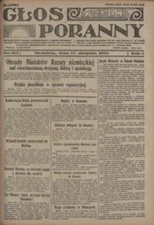 Głos Poranny, 1922, R. 1, nr 123